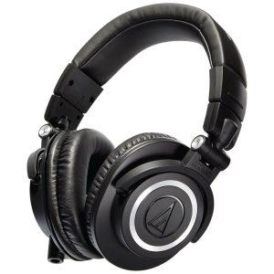 אוזניות אולפן Audio Technica M50X